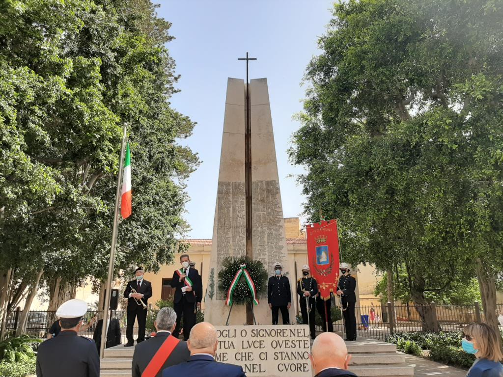 Celebrato a Marsala l'11 maggio