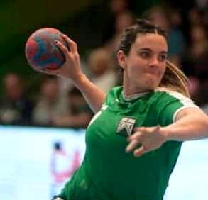 Florencia Ponce De Leon alla Handball Erice