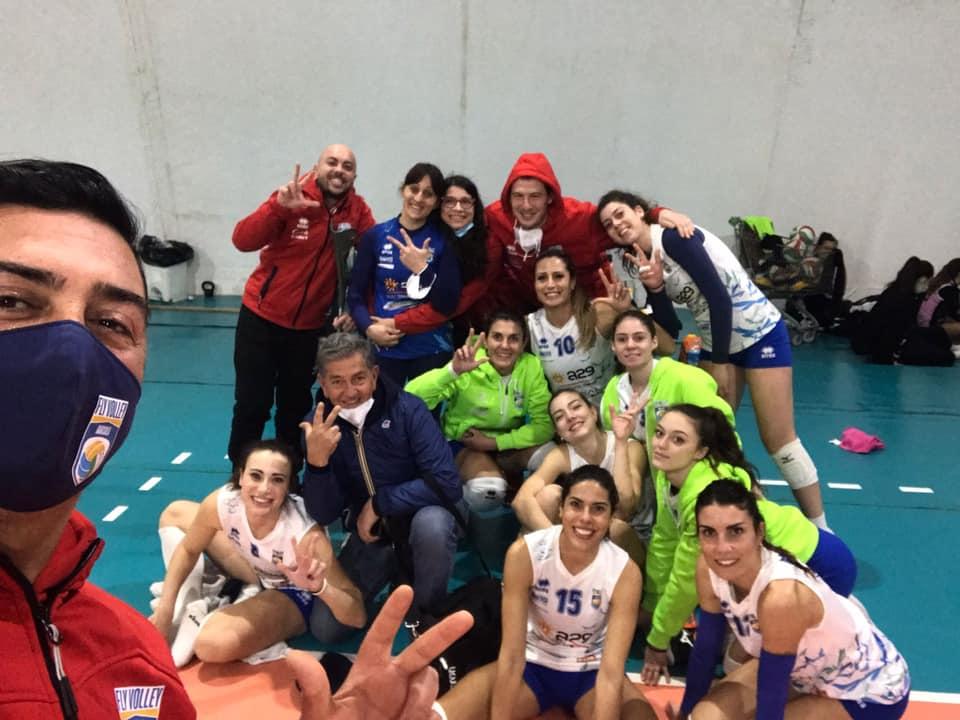 Serie B femminile, il Fly Volley Marsala sbanca Palermo