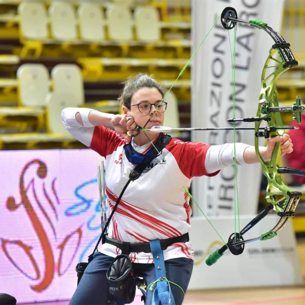 Alla trapanese Maria Andrea Virgilio il nuovo record europeo e mondiale para-archery