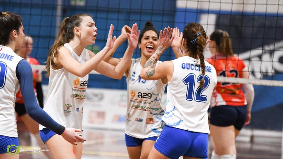Vince tra le mura amiche la A29 GesanCom Fly Volley Marsala