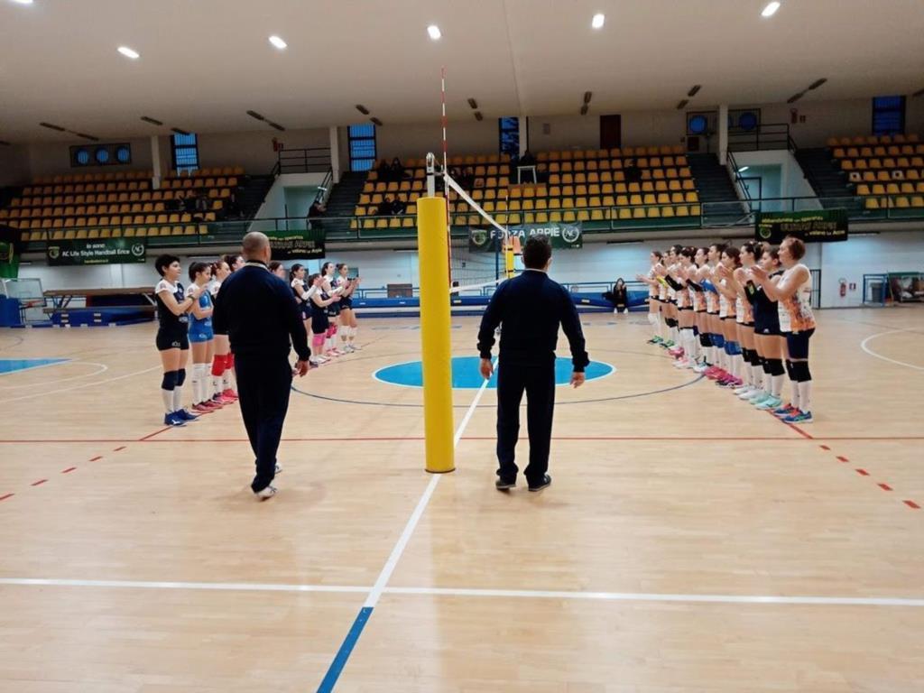 Vince l'Erice Entello in C femminile di Volley