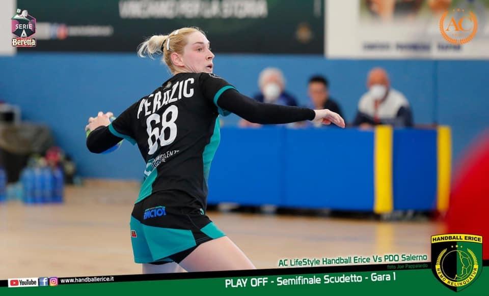 Handball Erice, lascia la grandissima Sladjana Perazic