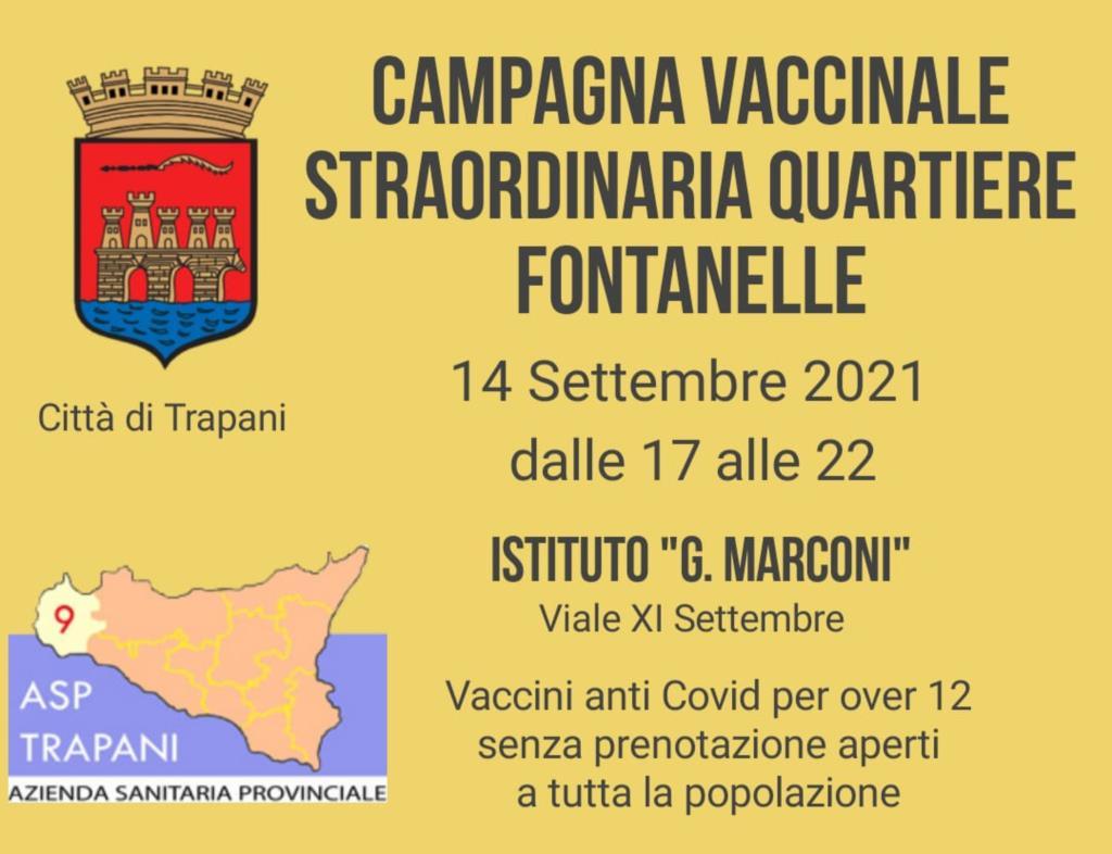 Campagna vaccinale straordinaria a Cappuccinelli e Fontanelle