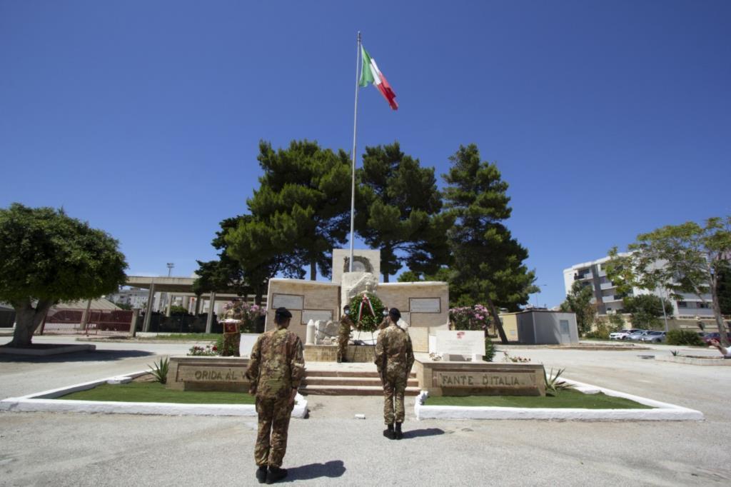 Il 6° Reggimento Bersaglieri celebra il 184° anniversario del Corpo