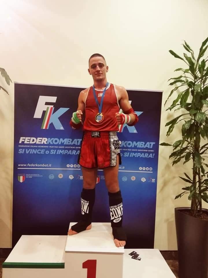 Il valdericino Armando Sansica campione italiano di arti marziali