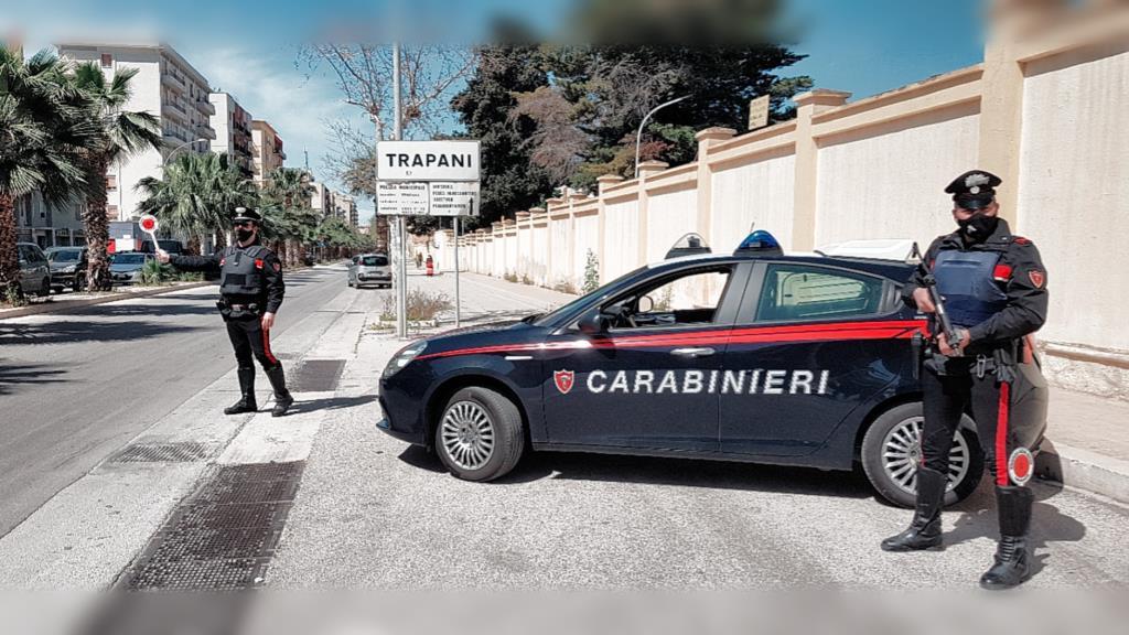 Controlli dei Carabinieri a Trapani: un arresto e tre denunce
