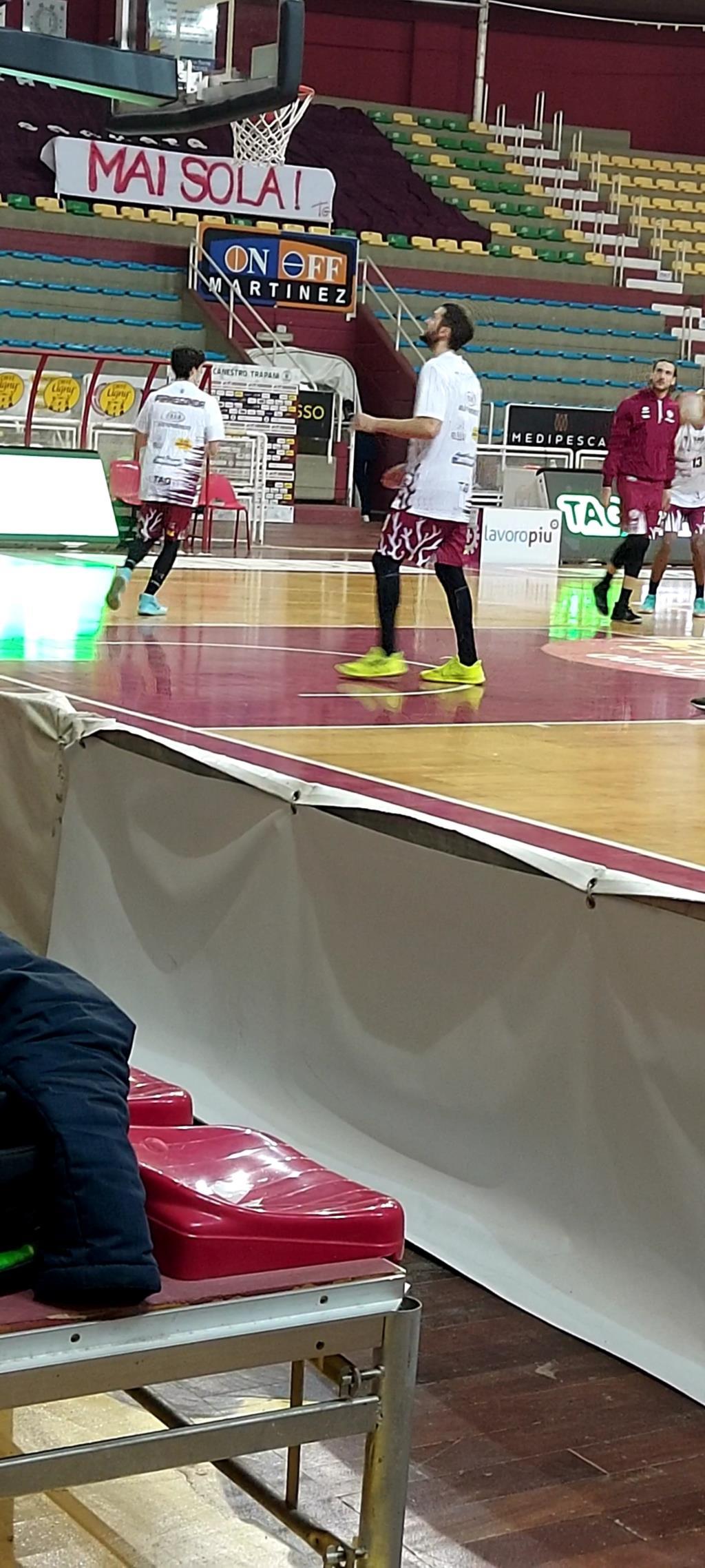 Trapani batte Bergamo 90 a 89