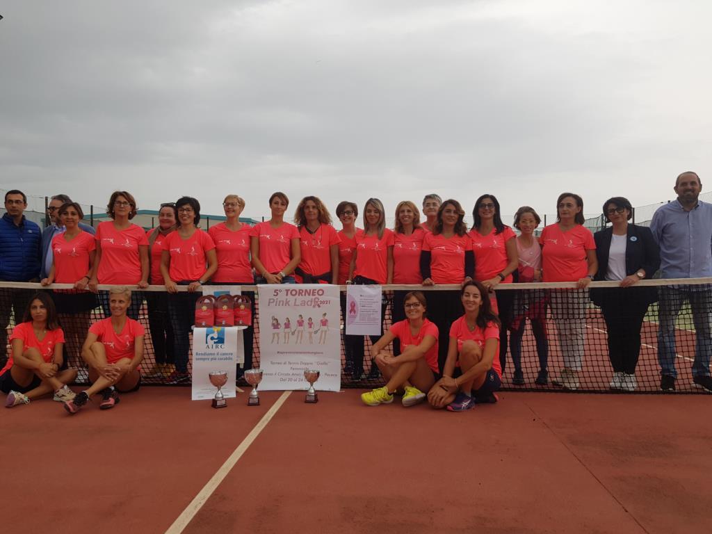 Tutti i numeri del quinto torneo 'Pink Lady 2021'