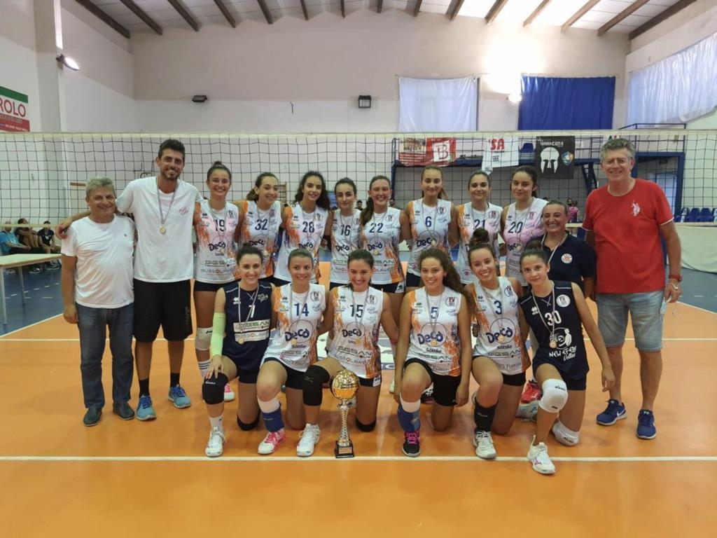 L'Under 17 femminile dell' Ottica Ferrara Entello vince il titolo regionale