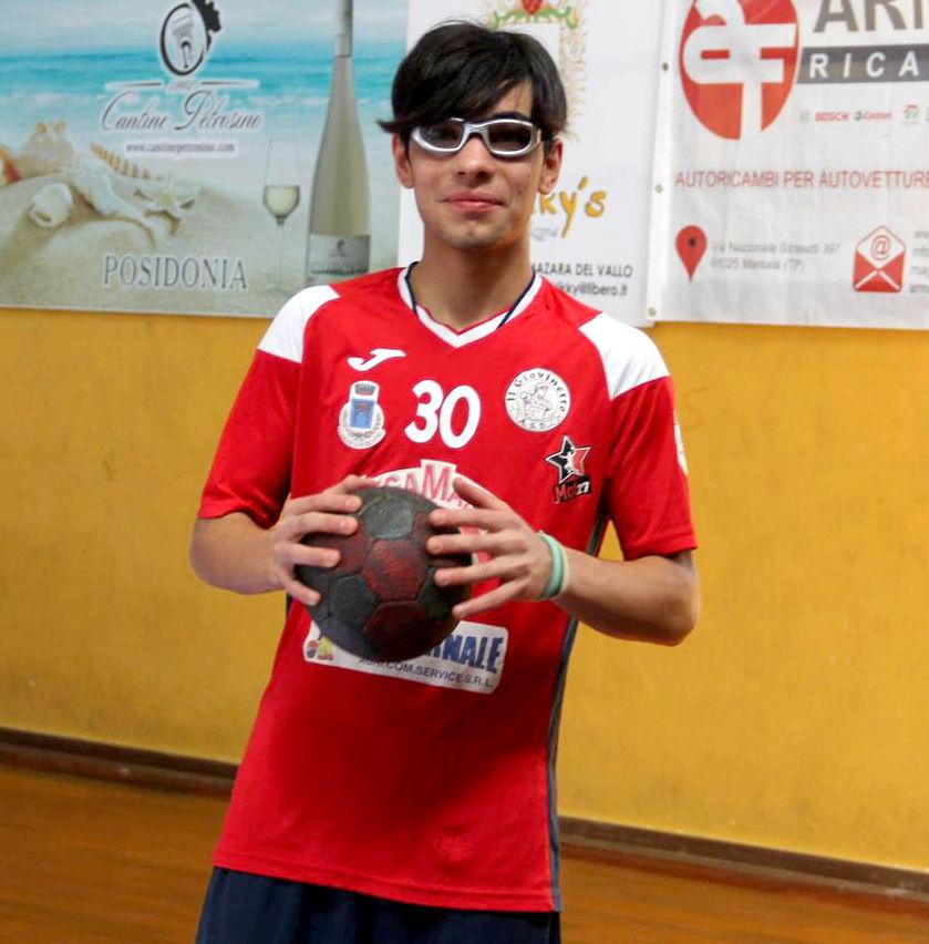 Torna in Nazionale il giovane Giorgio Adamo dell' ASD Giovinetto Pallamano