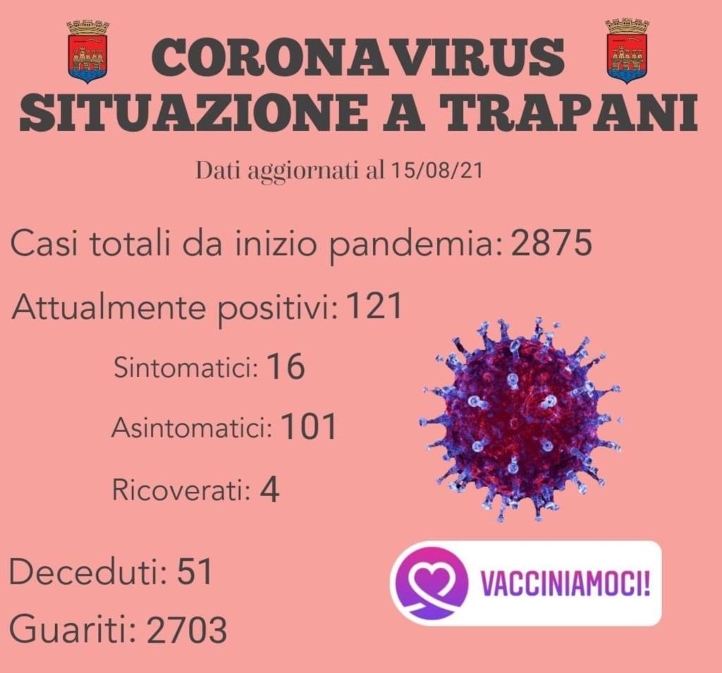 Trapani, l'invito del Comune a vaccinarsi