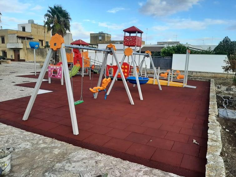 Il Comune di Campobello ha un nuovo parco giochi inclusivo
