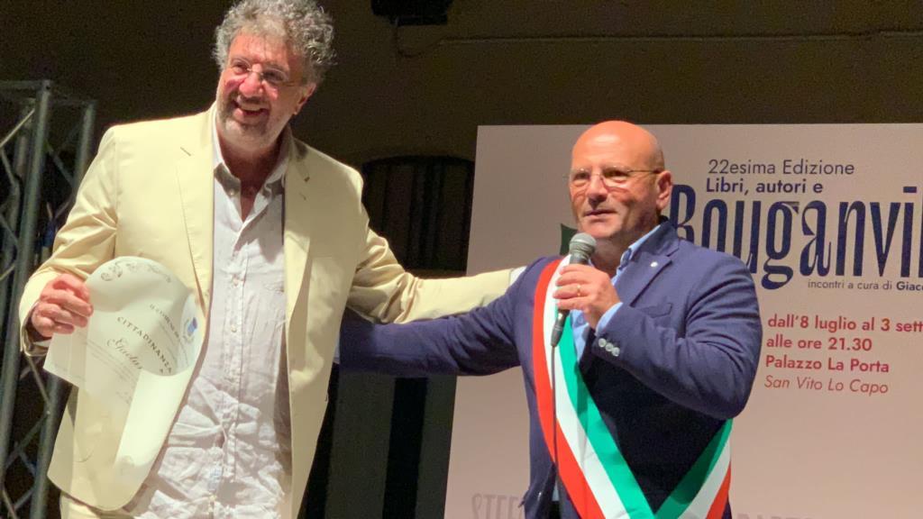 Gaetano Savatteri cittadino onorario di San Vito Lo Capo
