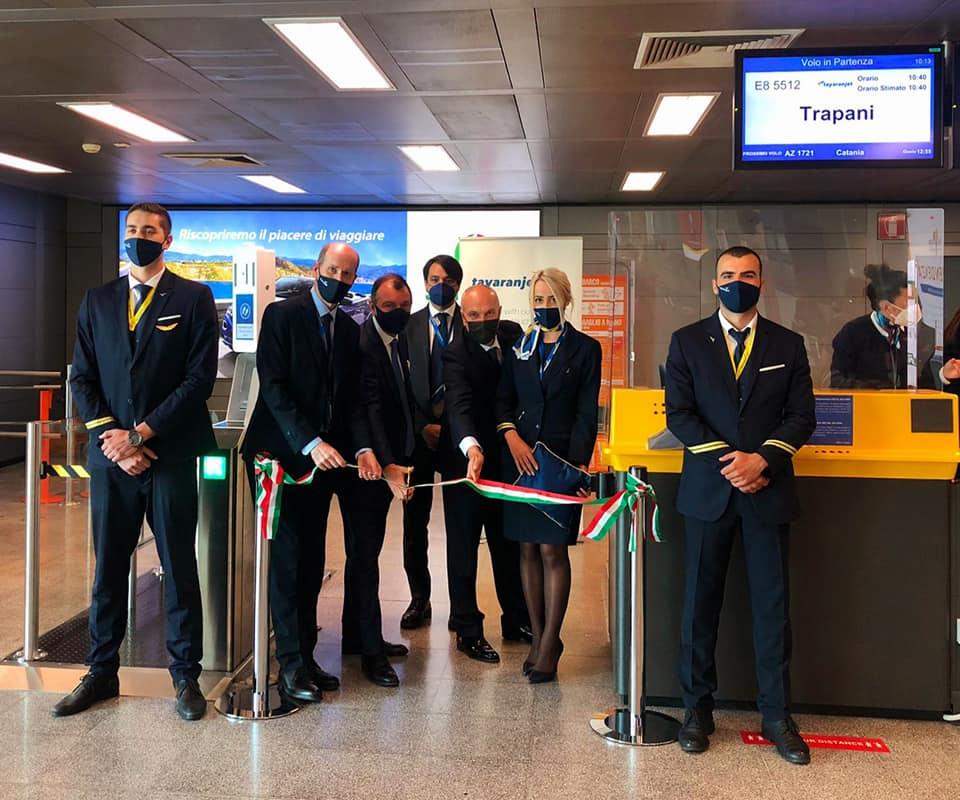 Aeroporto di Birgi, il debutto di Tayaran Jet con il volo da Milano