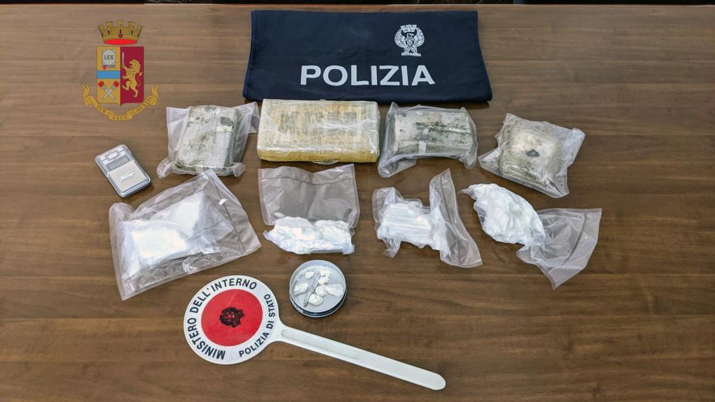 Trapani, sequestro di cocaina ed eroina: coinvolti due coniugi e la nonna