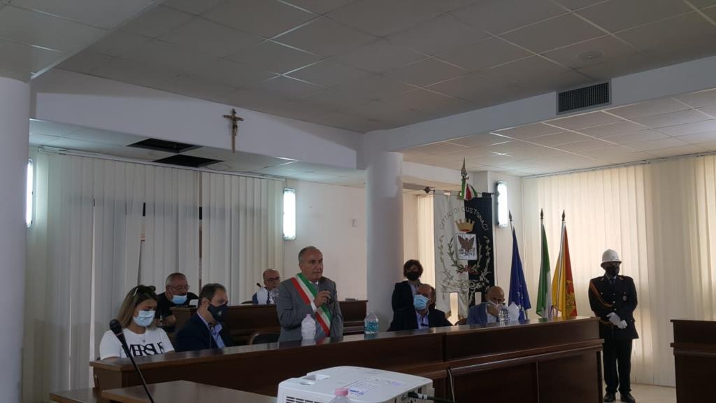Custonaci, l'aula consiliare intitolata al Giudice Caponnetto