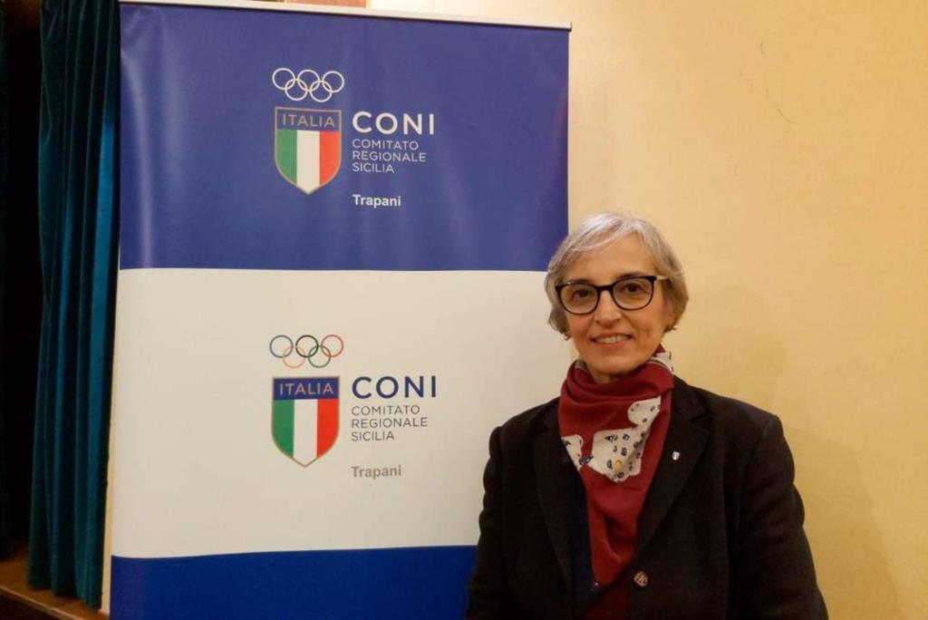 Elena Avellone riconfermata Delegata provinciale del Coni di Trapani