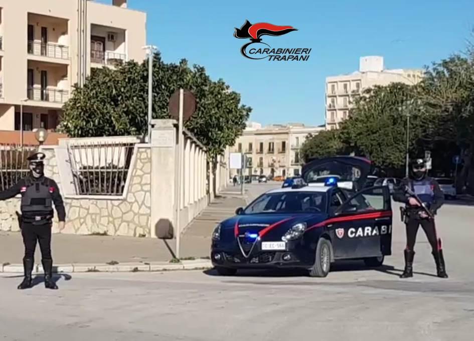 Trapani, 51enne in arresto: ha aggredito i carabinieri