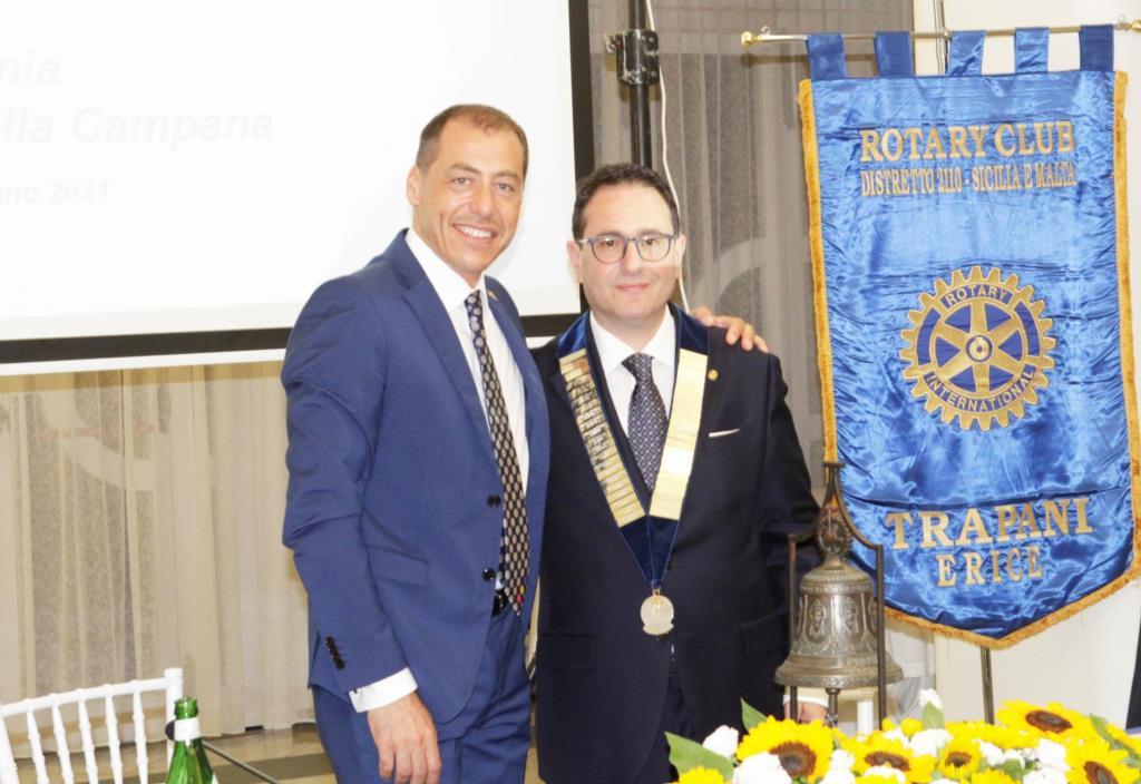 Cambio di campana al Rotary club Trapani-Erice