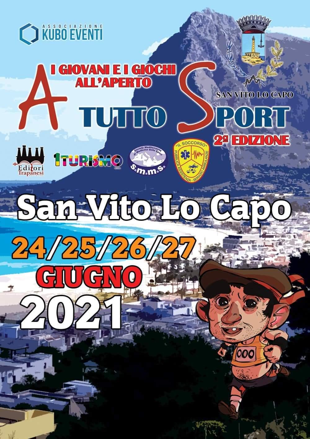 """In programma a S. Vito nel mese di giugno """"A tutto sport – I giovani e i giochi all' aperto"""""""