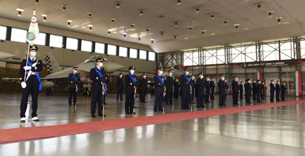 Base del 37° Stormo, nuova comandante al 18° Gruppo caccia intercettori
