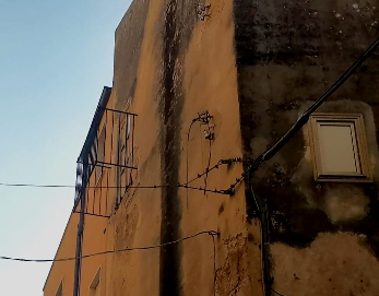 Alcamo: crolla un balcone in via Sant'Oliva, nessun ferito