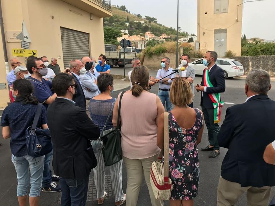 Alcamo: inaugurata la strada per Camporeale