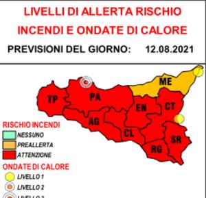 Temperature sahariane e nuova allerta rossa in Sicilia