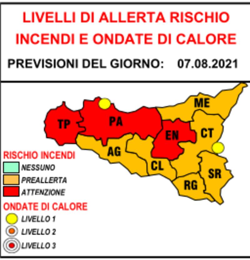 Incendi, governo Musumeci dichiara stato di crisi e di emergenza in Sicilia