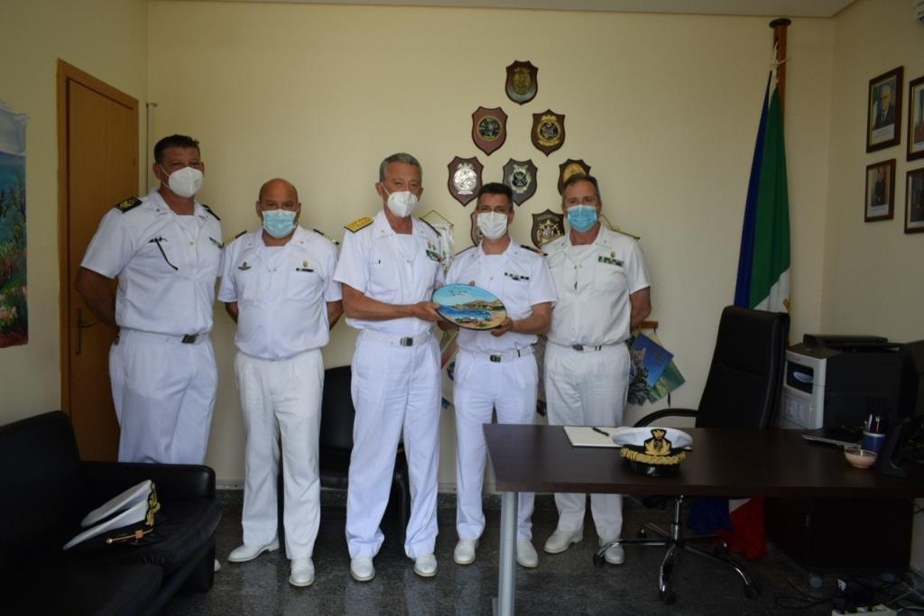 Il comandante generale del corpo delle capitanerie di porto in visita a San Vito e Castellammare