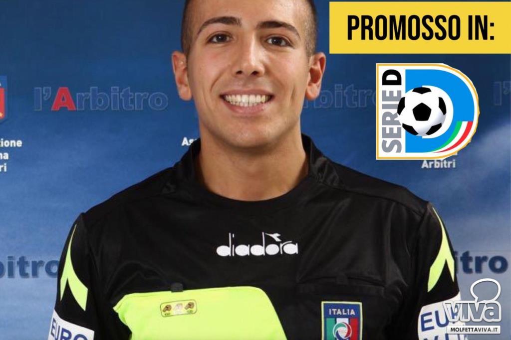 Antonio Di Reda dirigerà Città di S. Agata-FC Trapani 1905