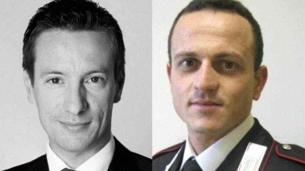 Bandiere a mezz'asta per l'ambasciatore Attanasio e il carabiniere Iacovacci