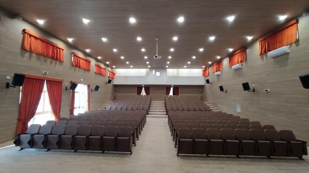 Erice, si inaugura in mattinata l'auditorium della scuola Pagoto
