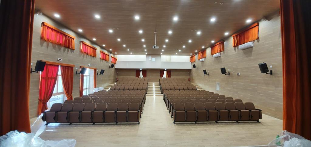 """Erice: l'istituto """"Giuseppe Pagoto"""" ha un nuovo auditorium"""