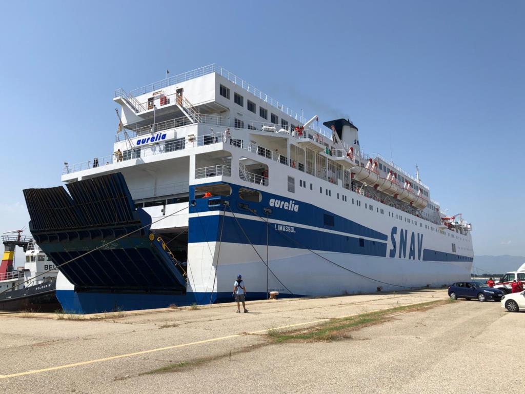 Arrivata a Trapani la seconda nave quarantena per i migranti