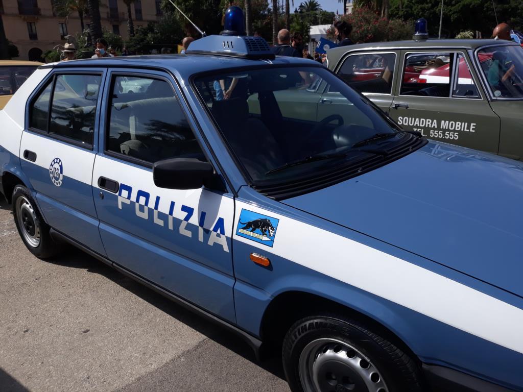 Auto storiche a Trapani