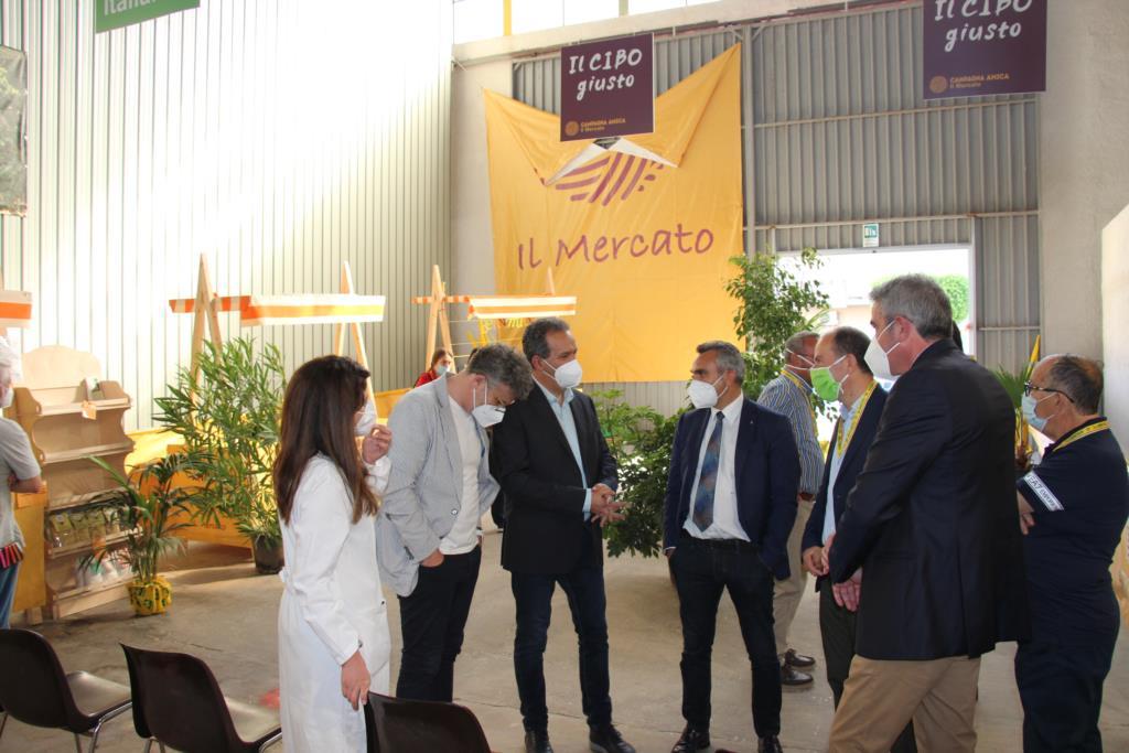 Operativo domenica a Marsala l'hub vaccinale al Mercato Coldiretti