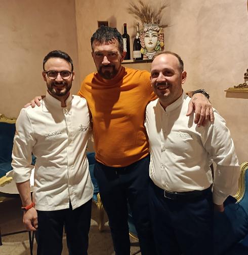 Antonio Banderas a Trapani: sabato sera in un noto ristorante del centro