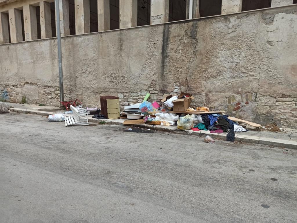 Trapani, pulizia straordinaria a Rione Cappuccinelli