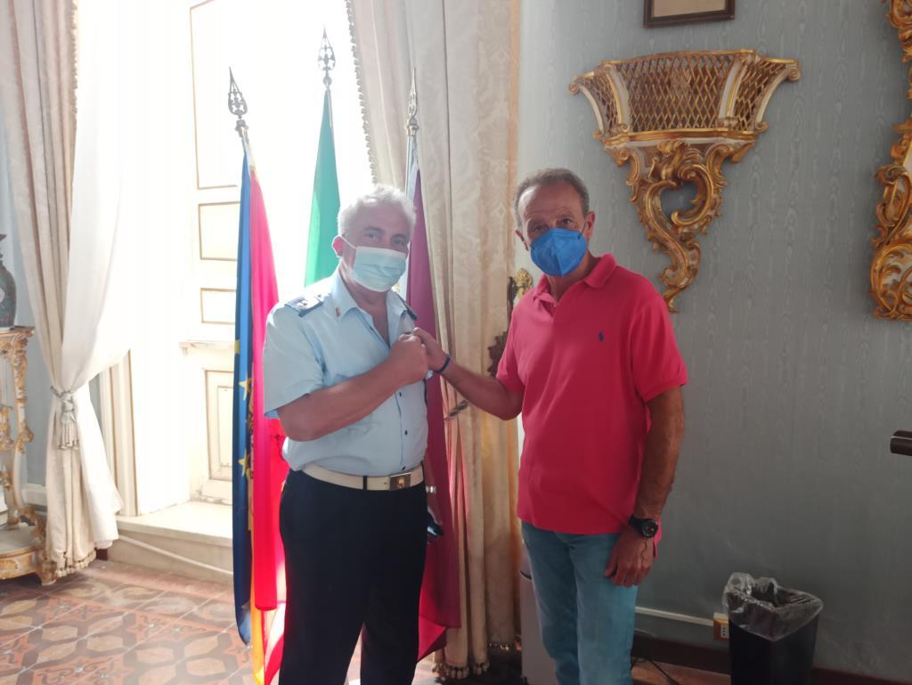 Trapani, Mario Bosco si congeda dal Comando della Polizia Municipale