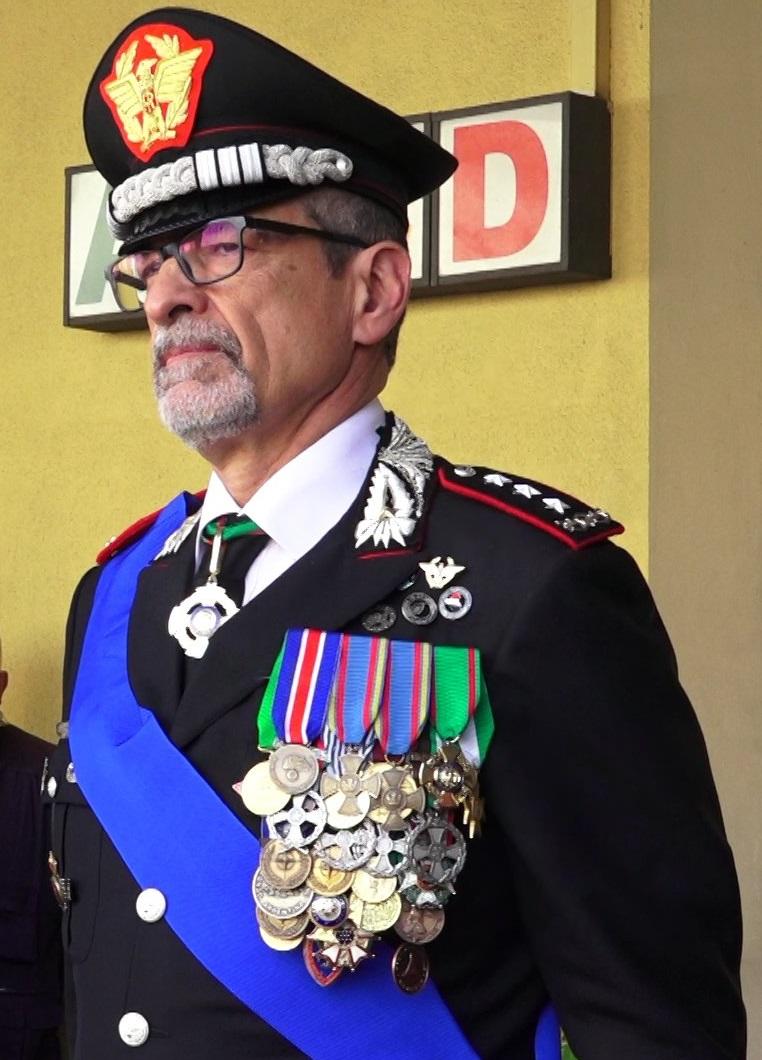 Carabinieri. Il Generale Burgio in visita a Trapani
