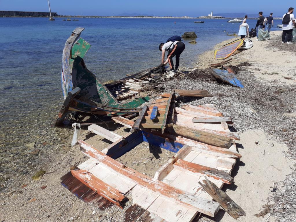 Giornata ecologica, volontari alla Lega Navale di Trapani