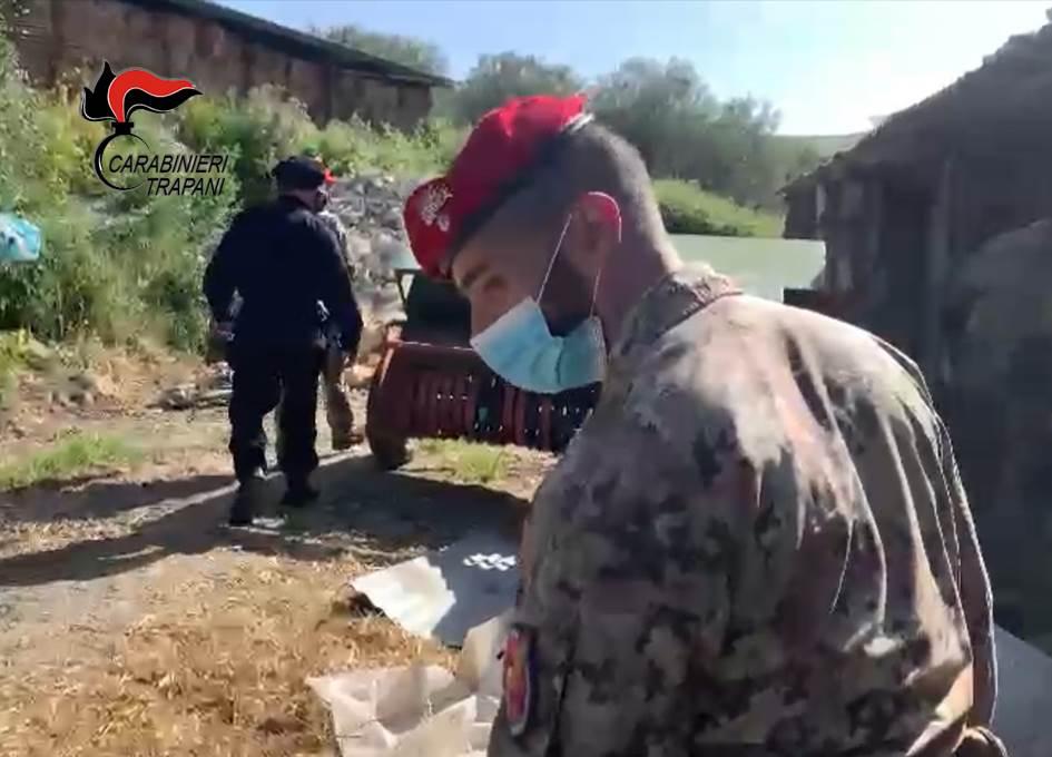 Controlli dei Carabinieri a Salemi: denunciati in cinque