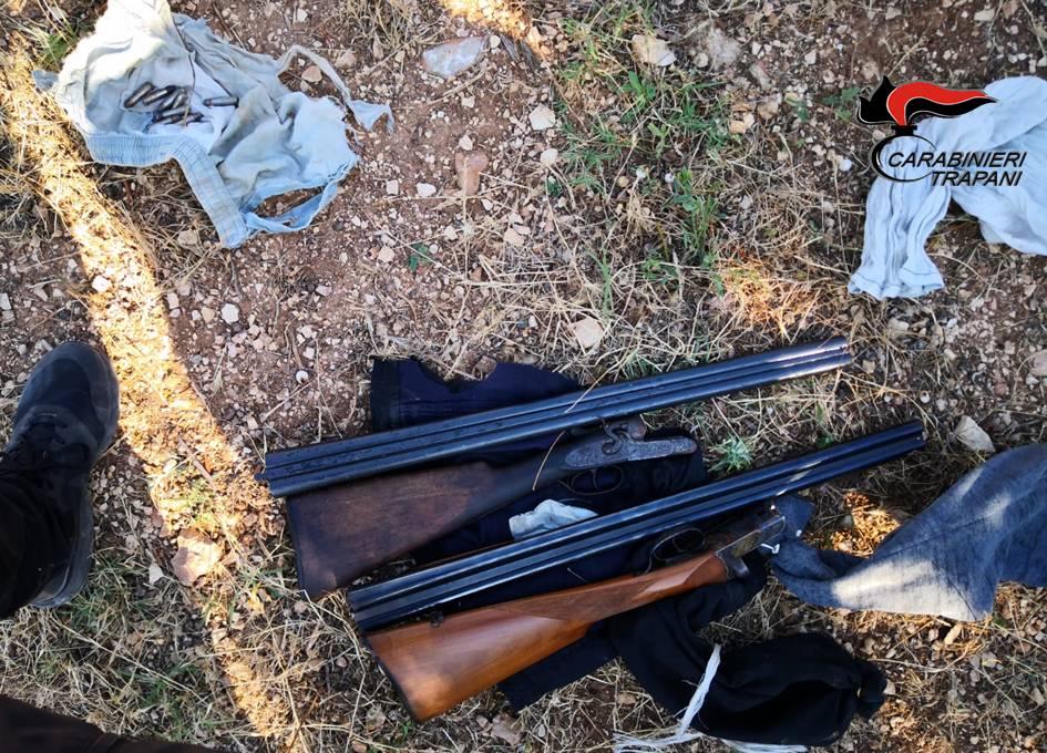 Armi e munizioni in un terreno di «Ciccio Tempesta»