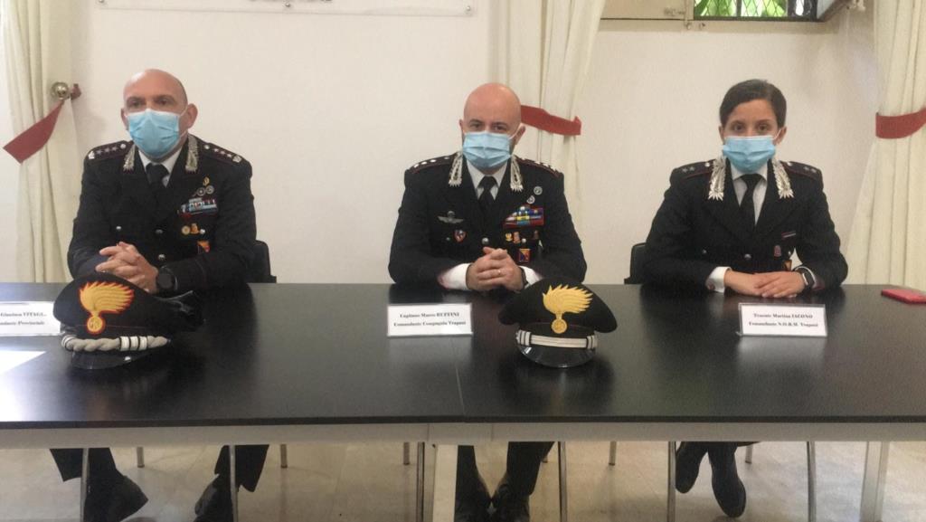 «Un anno accanto a chi è in difficoltà»: il bilancio dell'Arma dei carabinieri di Trapani