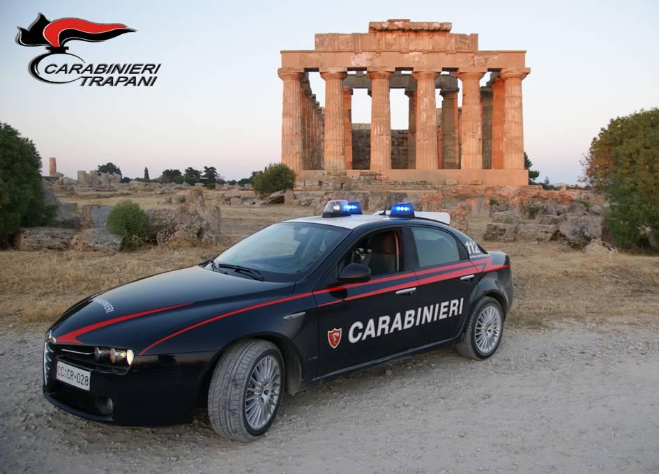 Castelvetrano: minaccia di sfondare la porta di casa dell'ex moglie, arrestato dai carabinieri