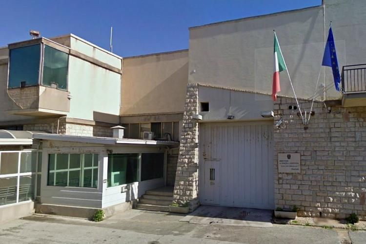 Aggressione all'interno delle carceri di Trapani