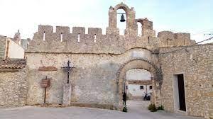 Un plastico del castello di Baida che lo riproduce ai tempi di re Ferdinando III di Borbone