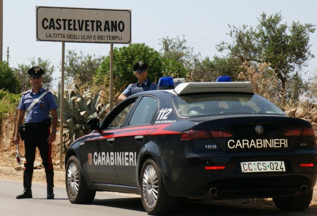Cstelvetrano: controlli dei carabinieri, tre arresti e due denunce